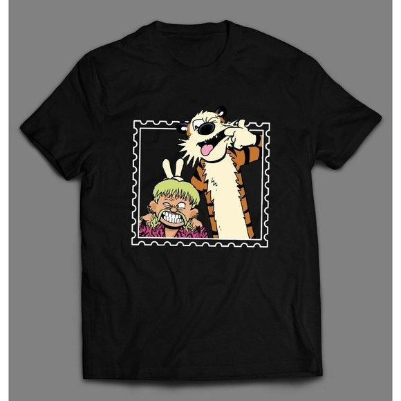 Joe Tiger King Exotic Funny T-Shirt Cartoon Character Men/'s Tee Top